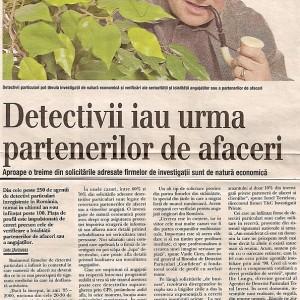 """Revista """"Capital"""" Detectivi Timisoara 2007"""